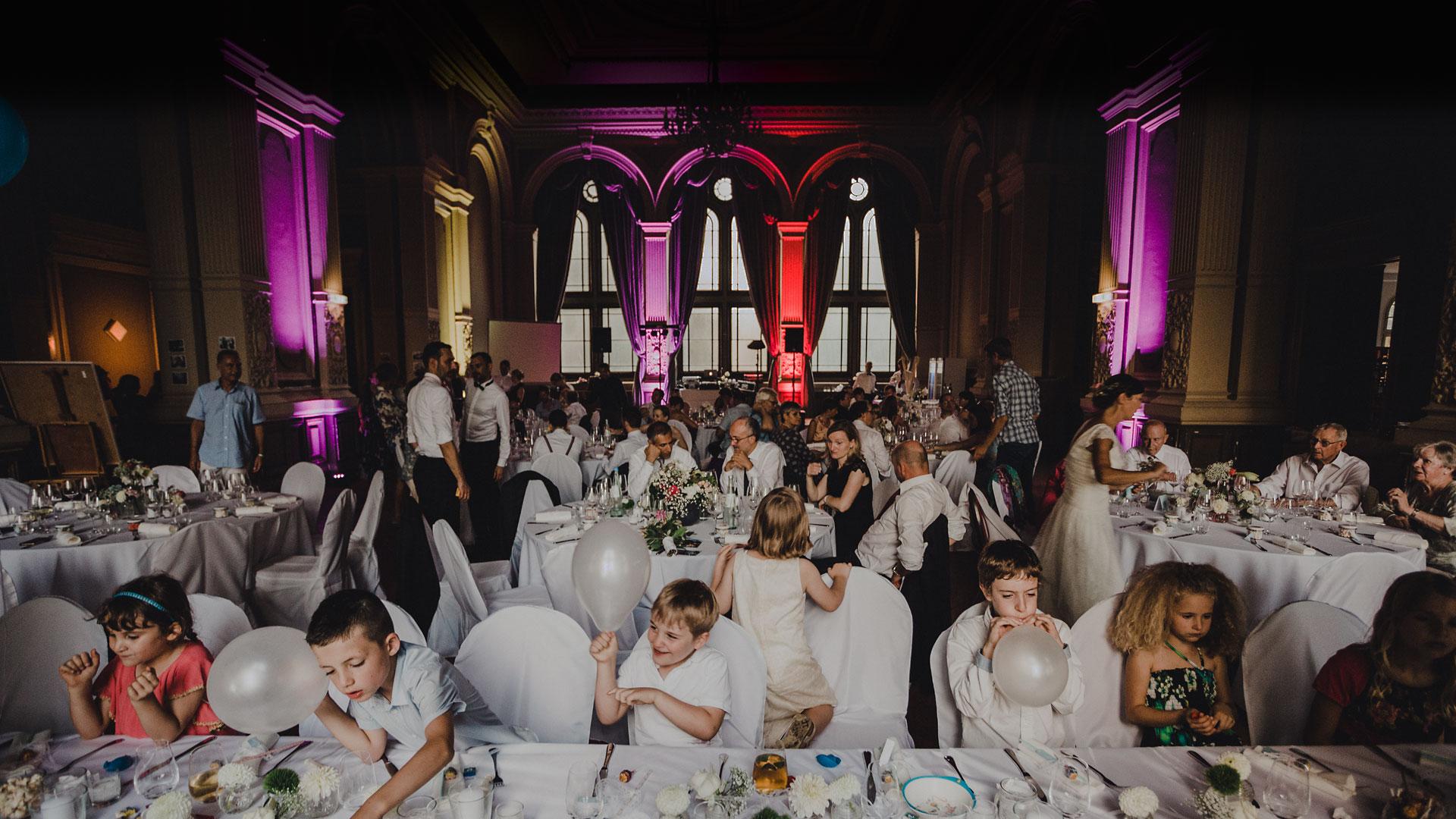 Hochzeiten · Familienfeste · Dinnerpartys im Ordenssaal